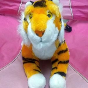 Disney Rare Shere Khan Plush Tiger Vintage